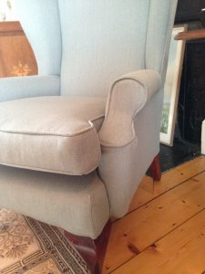 Furniture; Meath; Dublin; reupholstery; armchair